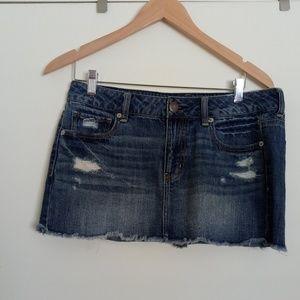 American Eagle AE Jeans Skirt